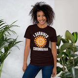 I survived coronavirus Short-Sleeve Unisex T-Shirt