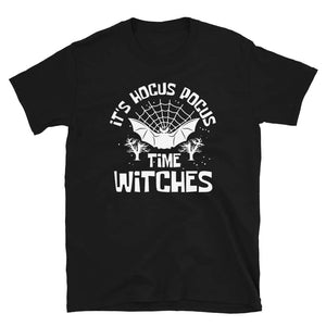 It's Hocus Pocus Time Witches Cute Halloween Shirt Gift