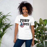 Just Vote Political Election 2020 Voter Short-Sleeve Unisex