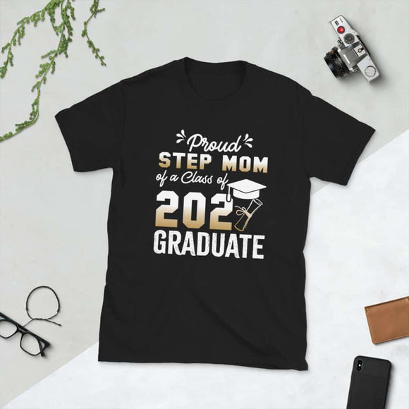 Proud Stepmom of a Class of 2021 Graduate Shirt Senior 2021