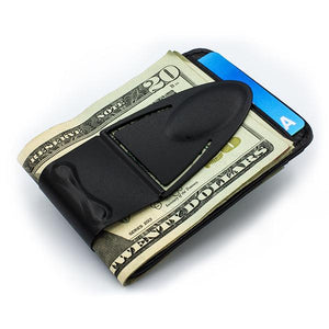 Geneva Black Matte - No Wallet - Money Clamp - www.MoneyClamp.com