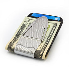Load image into Gallery viewer, Geneva Silver Mesh - Money Clamp - www.MoneyClamp.com