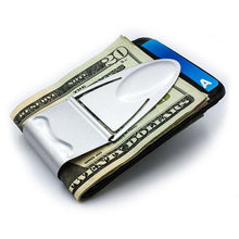 Load image into Gallery viewer, Geneva Silver Titanium - Money Clamp - www.MoneyClamp.com