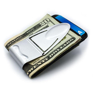 Geneva Silver Titanium - Money Clamp - www.MoneyClamp.com
