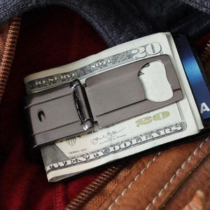 Munich Gunmetal (Polished) - Money Clamp - www.MoneyClamp.com