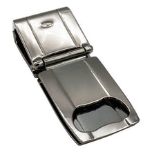 Load image into Gallery viewer, Munich Gunmetal (Polished) - Money Clamp - www.MoneyClamp.com