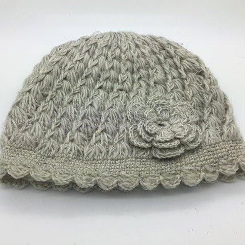Load image into Gallery viewer, Flower Wool Hat