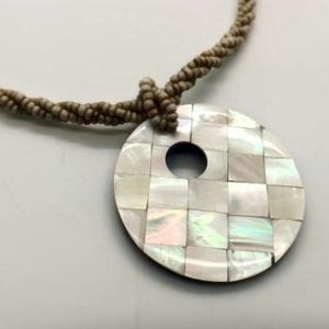 Load image into Gallery viewer, Mosaic Donut Necklace
