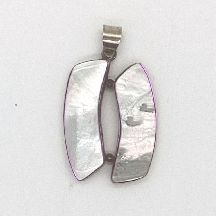 Mother of Pearl Double Pendant