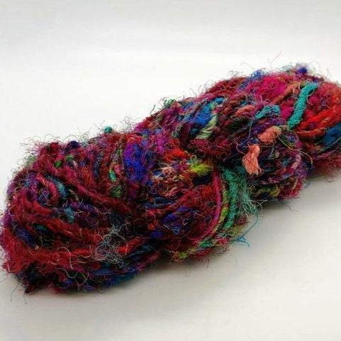 Load image into Gallery viewer, Recycled Silk Yarn 3