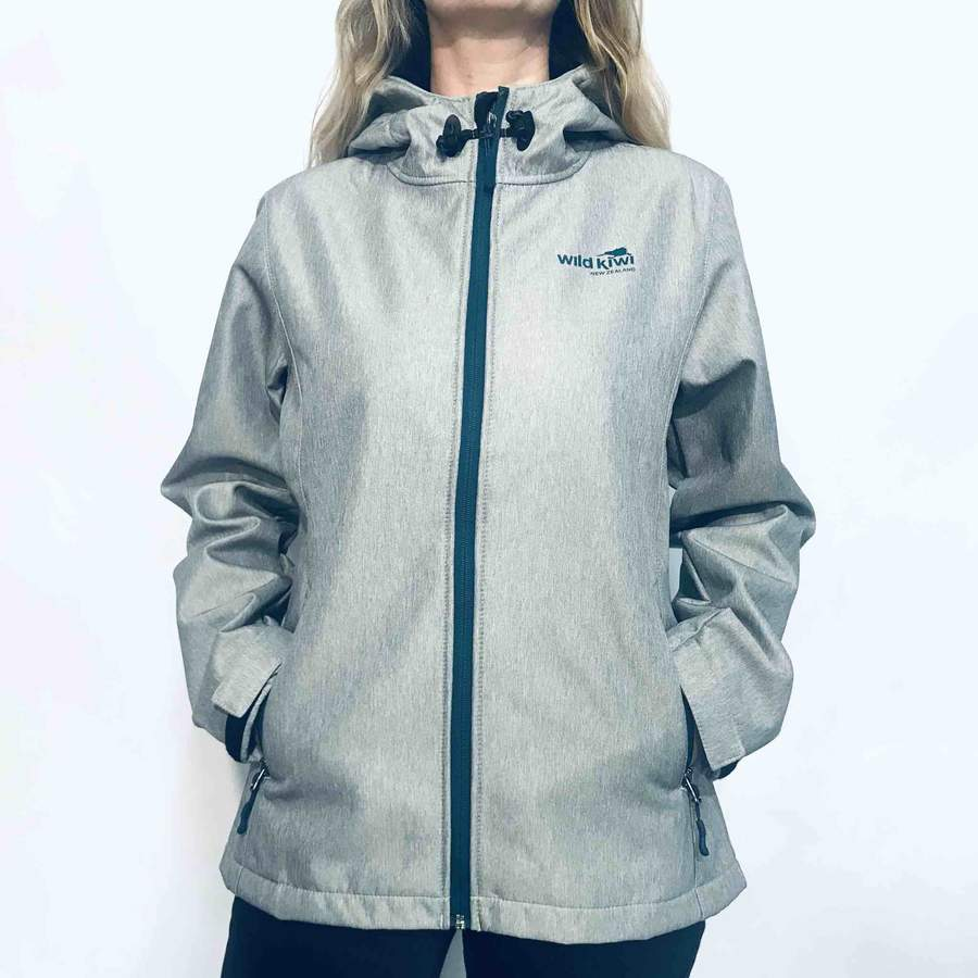 Load image into Gallery viewer, Womens Grey Tech Shell jacket 234TJ
