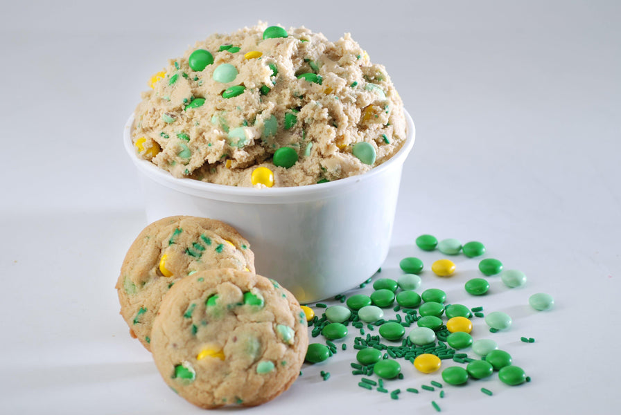 New for 2021: St. Patrick's Day Candy Crunch Cookie Dough
