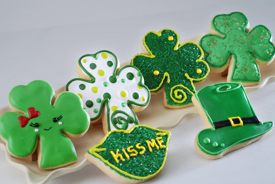 St. Patrick's Day Cut-Out Cookies