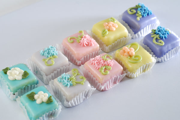 Easter Desserts & Gourmet Petit Fours from Poppie's Dough