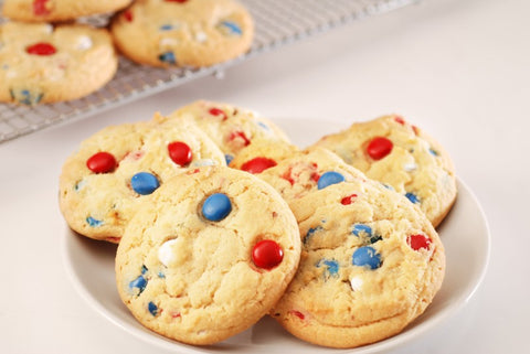 Fourth of July Cookies from Poppie's Dough