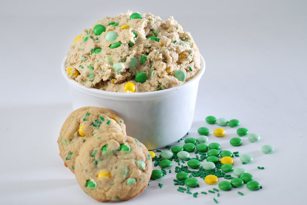 St. Patrick's Day Candy Crunch Cookie Dough