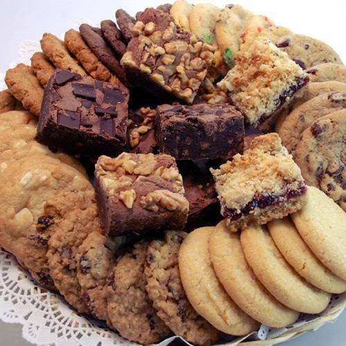 Soft-Baked Cookies, Brownies, & Crumb Bars (47 Pieces)
