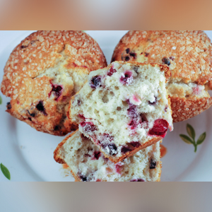 Fresh Baked Gourmet Muffins (12 Pieces)