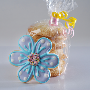 Spring Flower Cookie Stack (8 Pieces)