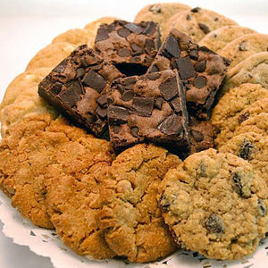 Soft-Baked Cookie & Fudge Brownie Tray (26 Pieces)