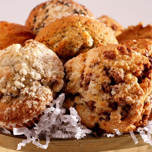 Fresh Baked Muffin and Scone Basket (13 Pieces) - Poppie's Dough