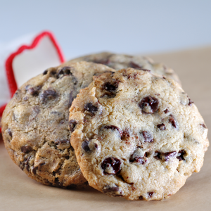 Gluten-Free Chocolate Chip Cookies (12 count) - Poppie's Dough