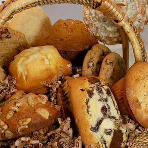 Fresh Baked Muffin and Cookie Basket (13 count)