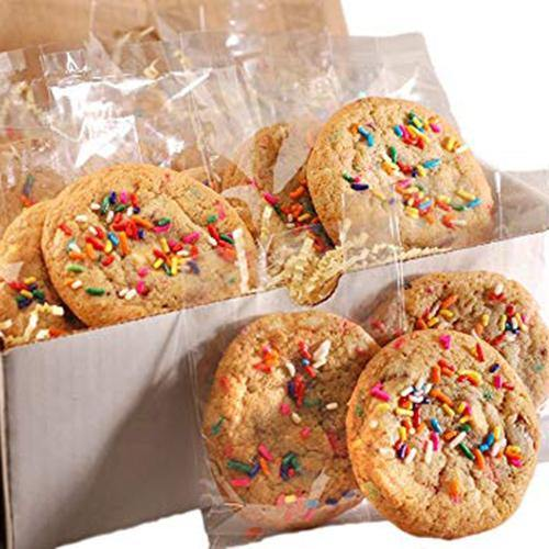 Rainbow Party Sprinkle Cookie Package
