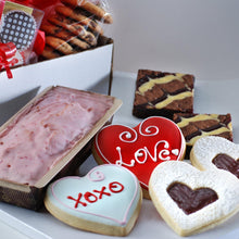 Load image into Gallery viewer, Gourmet Valentine Deluxe Gift Set