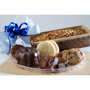 Fresh Baked Brownie & Banana Bread Basket