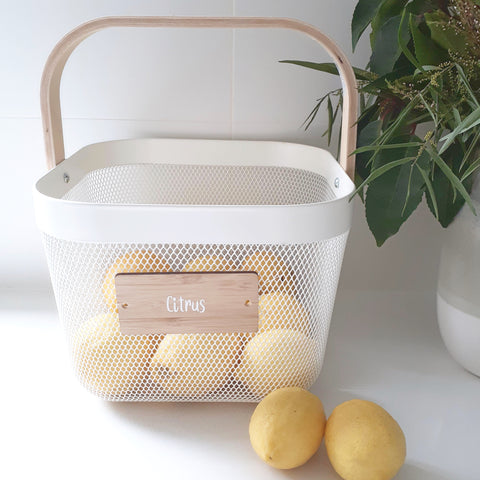 Metal Storage Baskets - Small