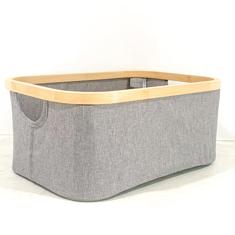 Collapsible Fabric Storage Baskets (4 Sizes Available)