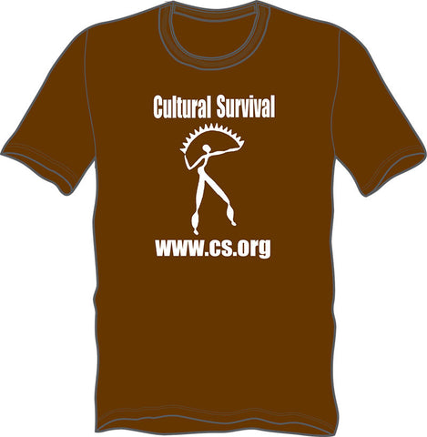 Brown Organic Fair Trade T-Shirt