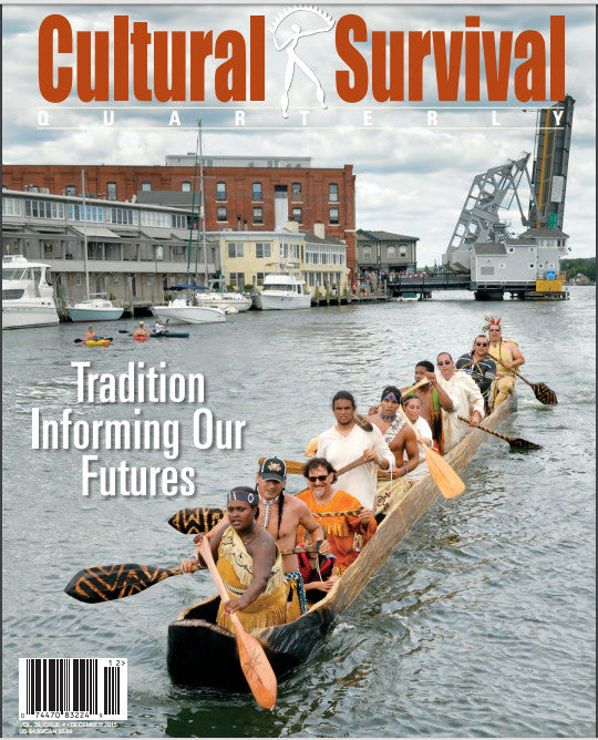 Cultural Survival Quarterly 394: Tradition Informing Our Futures