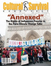 "CSQ 40-1. March 2016: ""Annexed"": The Rights of Indigenous Peoples in the Paris Climate Change Talks"