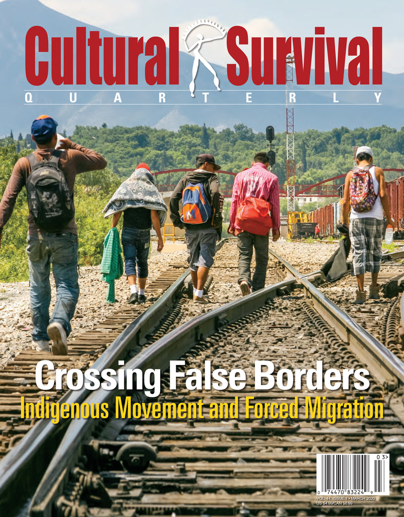 CSQ 44-1 Crossing False Borders: Indigenous Movement and Forced Migration