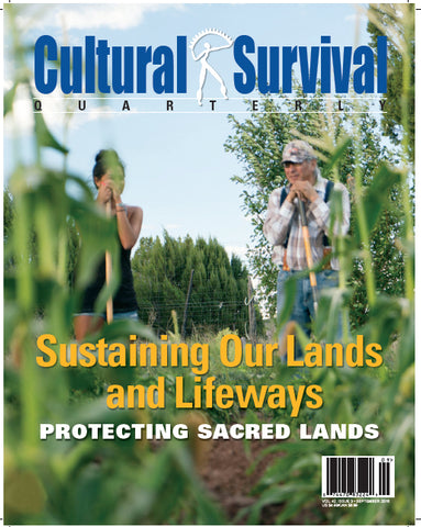 CSQ 42-3. September 2018:  Sustaining Our Lands and Lifeways