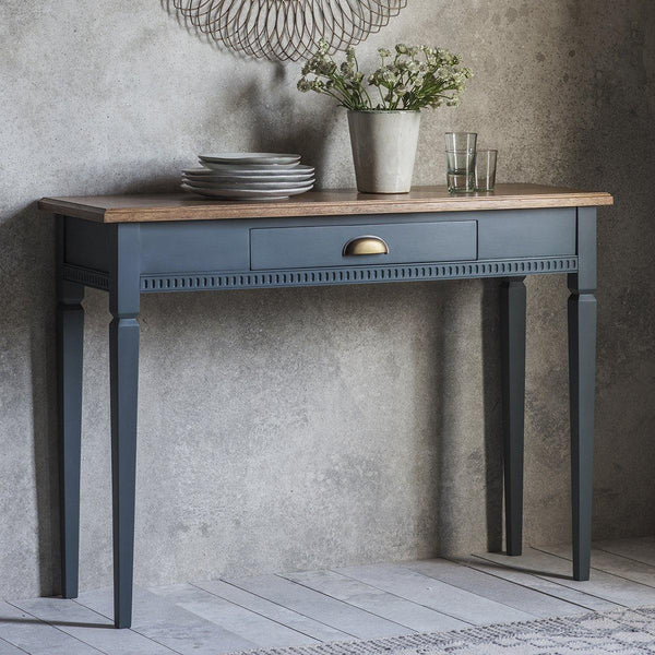 Alana 1 Drawer Console Table Storm - Joal Interiors