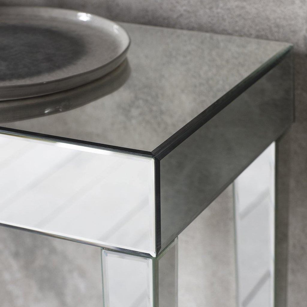 Amelie Mirrored Console Table - Joal Interiors