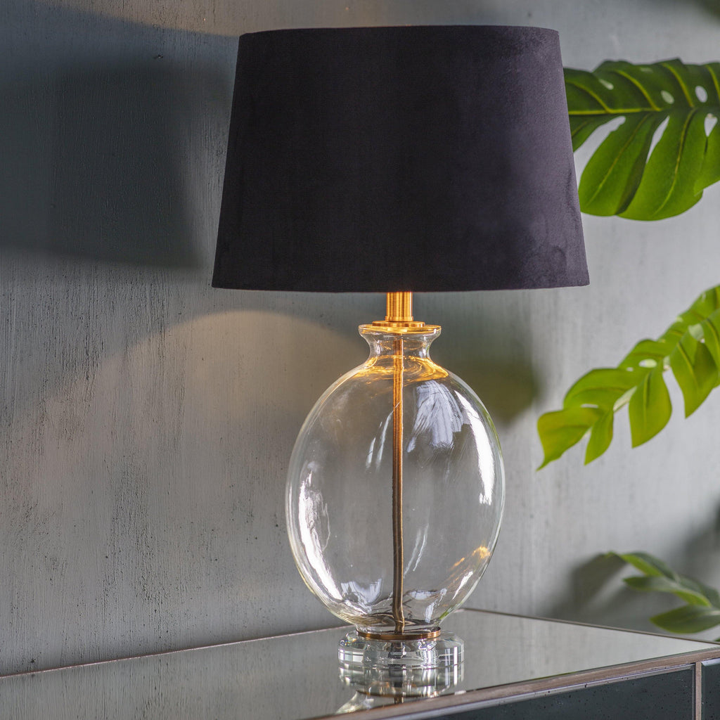 Cara Table Lamp Gold - Joal Interiors