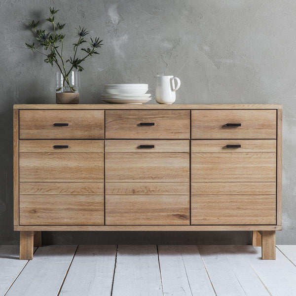 Freya Sideboard 3 Doors 3 Drawers - Joal Interiors