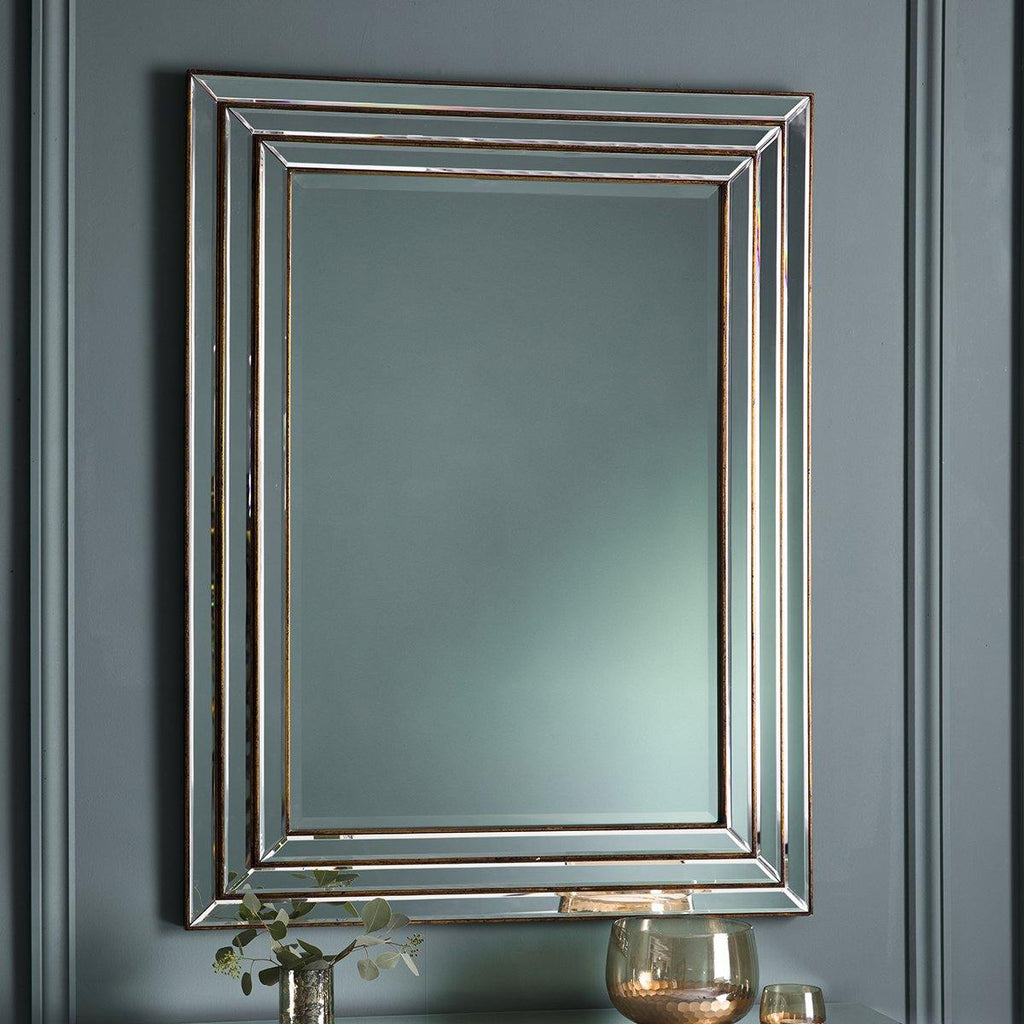 Hallie Mirror Bronze - Joal Interiors
