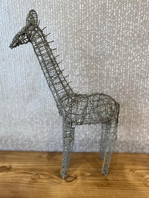 Wire Giraffe Decoration - Joal Interiors