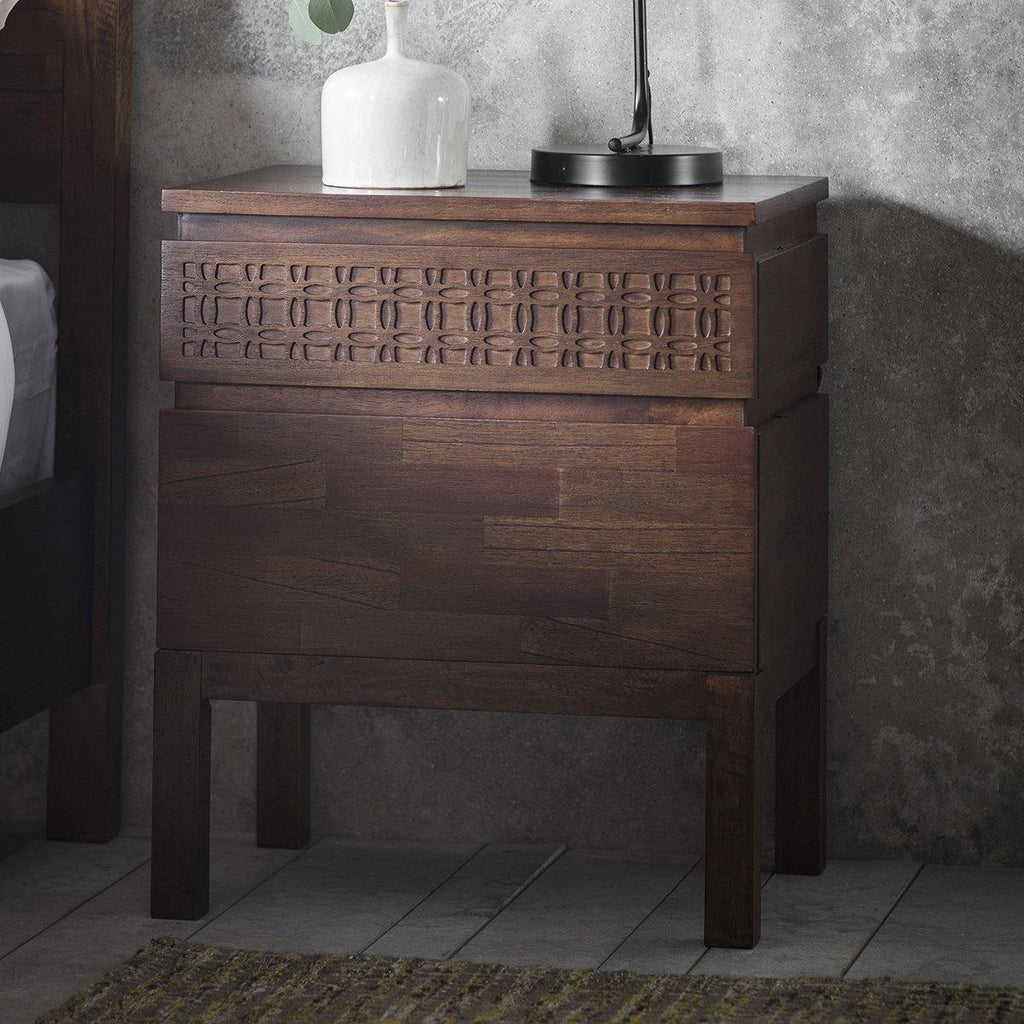 Talia Bedside Drawer - Joal Interiors