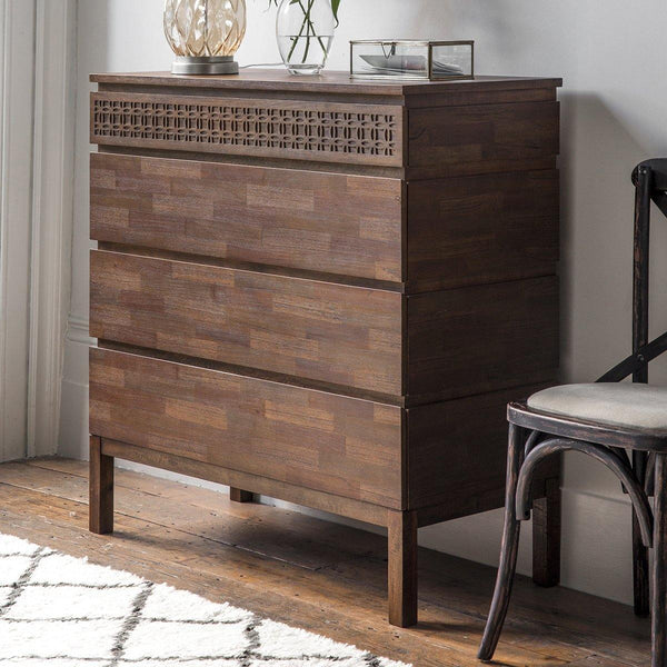 Talia 4 Drawer Chest of Drawers - Joal Interiors