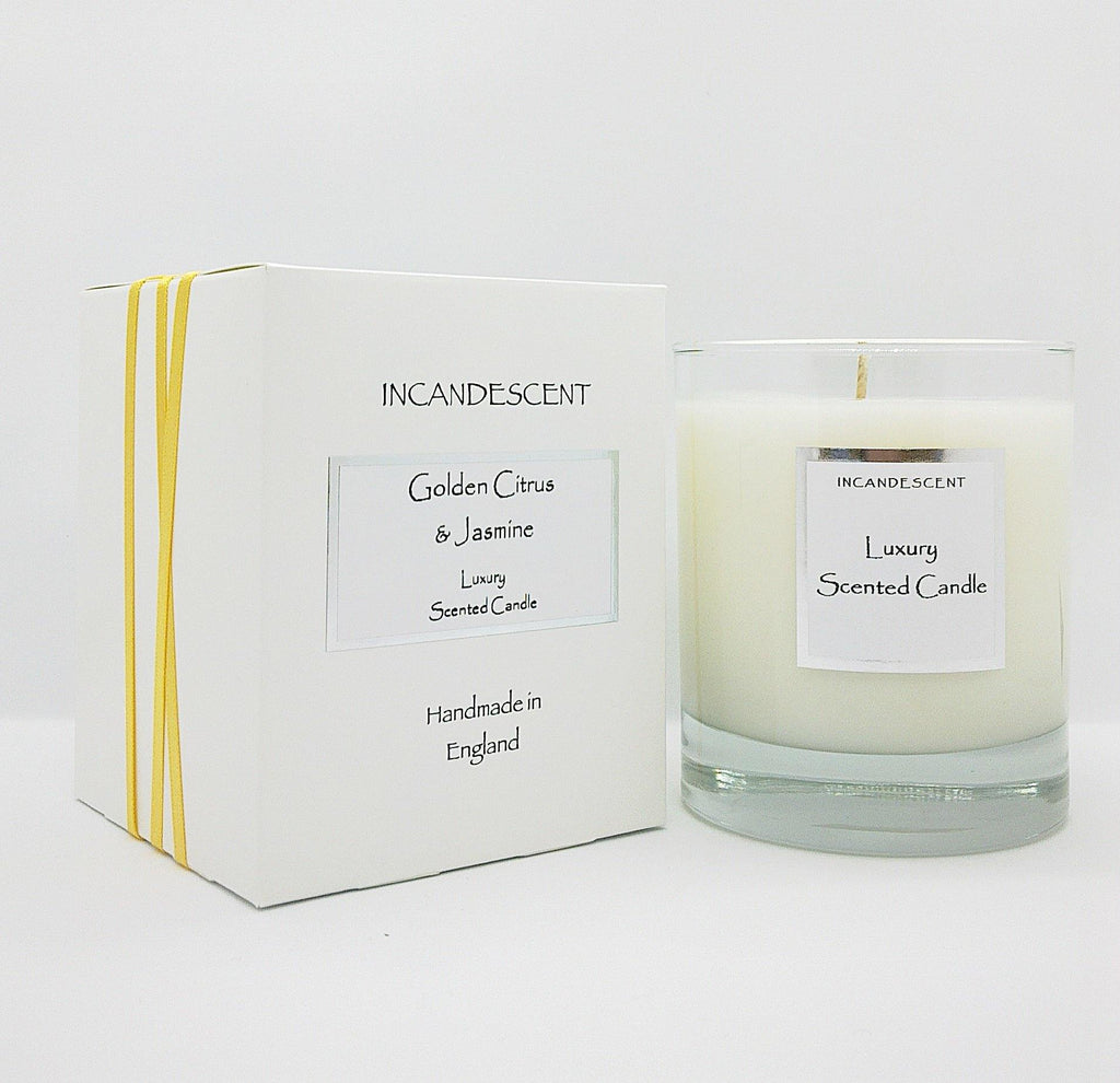 Incandescent Signature Golden Citrus & Jasmine Candle - Joal Interiors