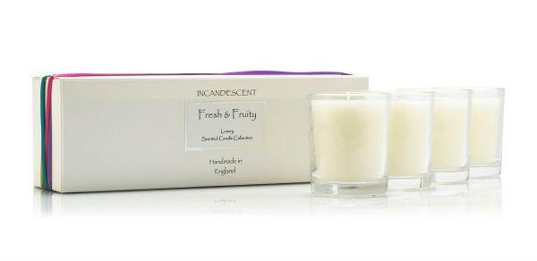 Incandescent Fresh & Fruity Candle Gift Set - Joal Interiors