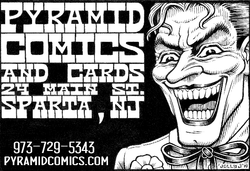 Pyramid Comics & Cards