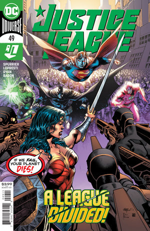 JUSTICE LEAGUE #49 CVR A EDDY BARROWS Sep 20