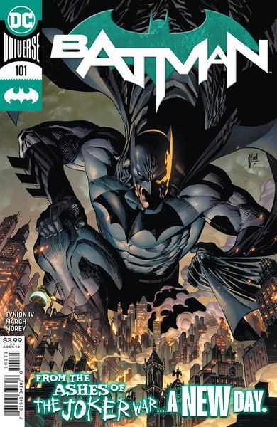 BATMAN #101 CVR A GUILLEM MARCH